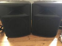 Peavy Impulse 200 passive PA speakers