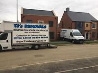 TJ's Removals Norwich Norfolk Nationwide man and van House Clearance