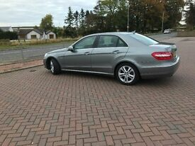 2010 (oct) Mercedes- Benz E Class E350 CDIBlue Efficiency Avantgaurd 4 doorTip Auto Low Miles