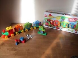 Duplo Train -Learn to Count- Age 2-5 - As New