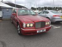 Bentley Arnarge red label 6 litre twin turbo FRANK BRUNO owned