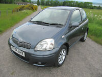 Toyota Yaris 1.3 VVTi only 75K VGC 11 months MOT NOW £1,495