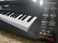Casio piano- WK 7600