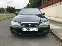 Automatic Honda Accord LS 1.8 petrol for sale, low mileage, service history, MOT, Drives perfect.
