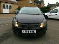 *VAUXHALL CORSA 1.2* - *DVD SAT NAV* - *RED INTERIOR* - *LIMITED EDITION* - *LOW MILEAGE*