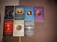 Game Of Thrones Full Book Series