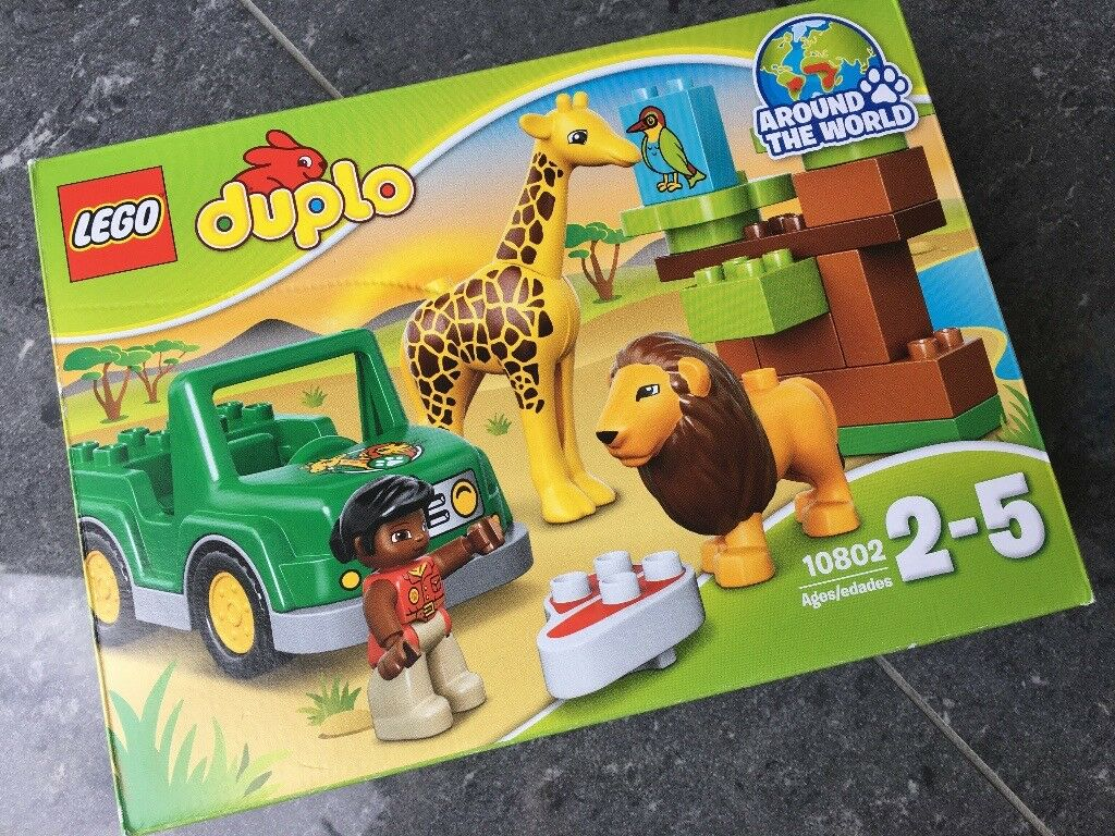 Lego Duplo Around The World Savanna Adventure 10802 In