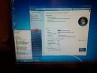 NEC PC with Samsung 17in TFT Monitor, Keyboard, Mouse, Laser Printer, Speakers