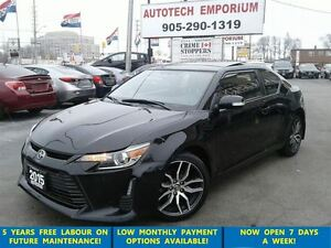 2015 Scion tC Automatic Pano Roof/B.tooth/Alloys &GPS*