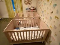 Cot bed baby to toddler