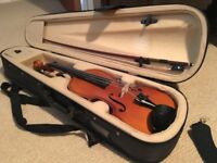 Beautiful Sandner Half Size Violin from Brittens in Tunbridge Wells