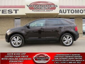 2013 Ford Edge SEL, LEATHER, TWIN DVD, PAN ROOF, NAV & MORE