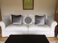 DFS Brand - ST IVES - GRANDE and MEDIUM FORMAL BACK SOFA Used/Bought in December 2017