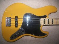 Fender Squier Jazz Bass Guitar Style by J&D.