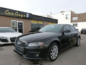2011 Audi A4 2.0T (M6) - Heated Leather, Sunroof, Bluetooth