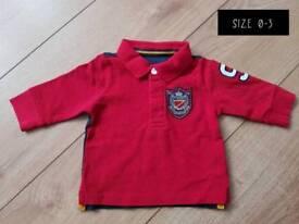 0-3 boys t-shirt