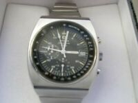 Omega Speedmaster 125 automatic mechanical chronometer chronograph wristwatch - Circa '73 - vintage