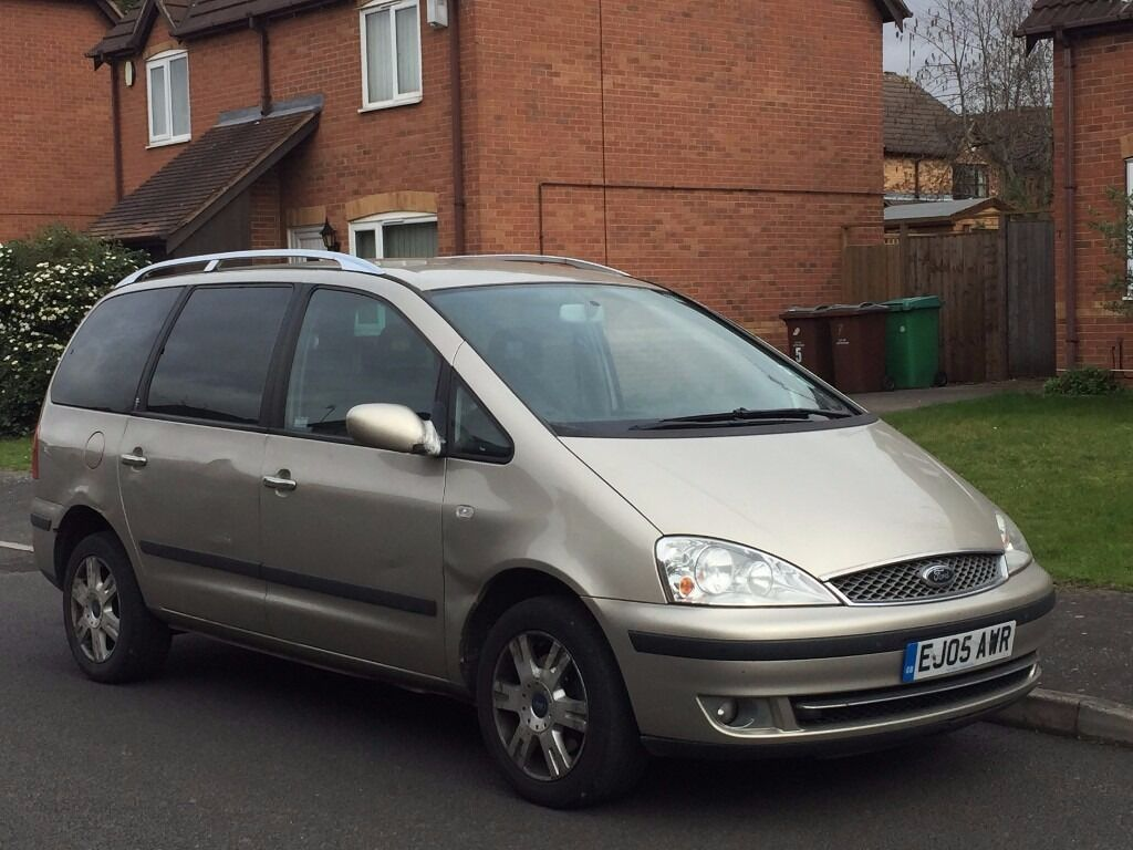 2005 Ford Galaxy Ghia 7 Seater Mpv 90k Automatic In