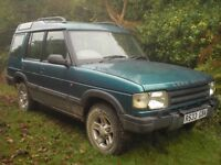 Land Rover Discovery XS 300Tdi, Spares or Repair, No MOT £595 ono