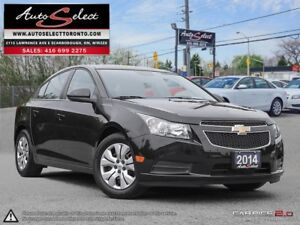 2014 Chevrolet Cruze ONLY 4,472KM!!!! **NOT A MIS-PRINT** CLN...