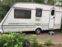 Great 4 berth Touring Caravan