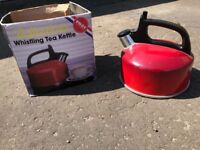 Gas hob camping kettle
