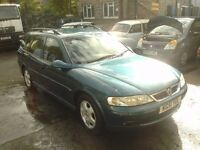 Vectra 1.8 estate 51 plate will come with 12 months mot good condition service history