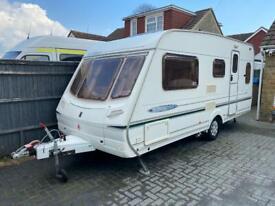 Abbey Freestyle 500 Special edition 5 berth caravan motor mover excellent condition.