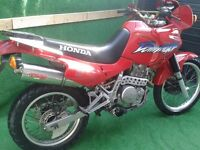 Honda Dominator 2002 NX650 / NX 650, Red, Low mileage, good condition with MOT till Feb 2017