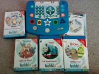 Bubble dvd game, thomas the tank