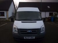 Ford Transit Mid high roof