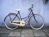 Vintage Dutchie/ Town/ Commuter Bike by Mistral, Burgandy, 3-Speed, JUST SERVICED, CHEAP PRICE!!!!!