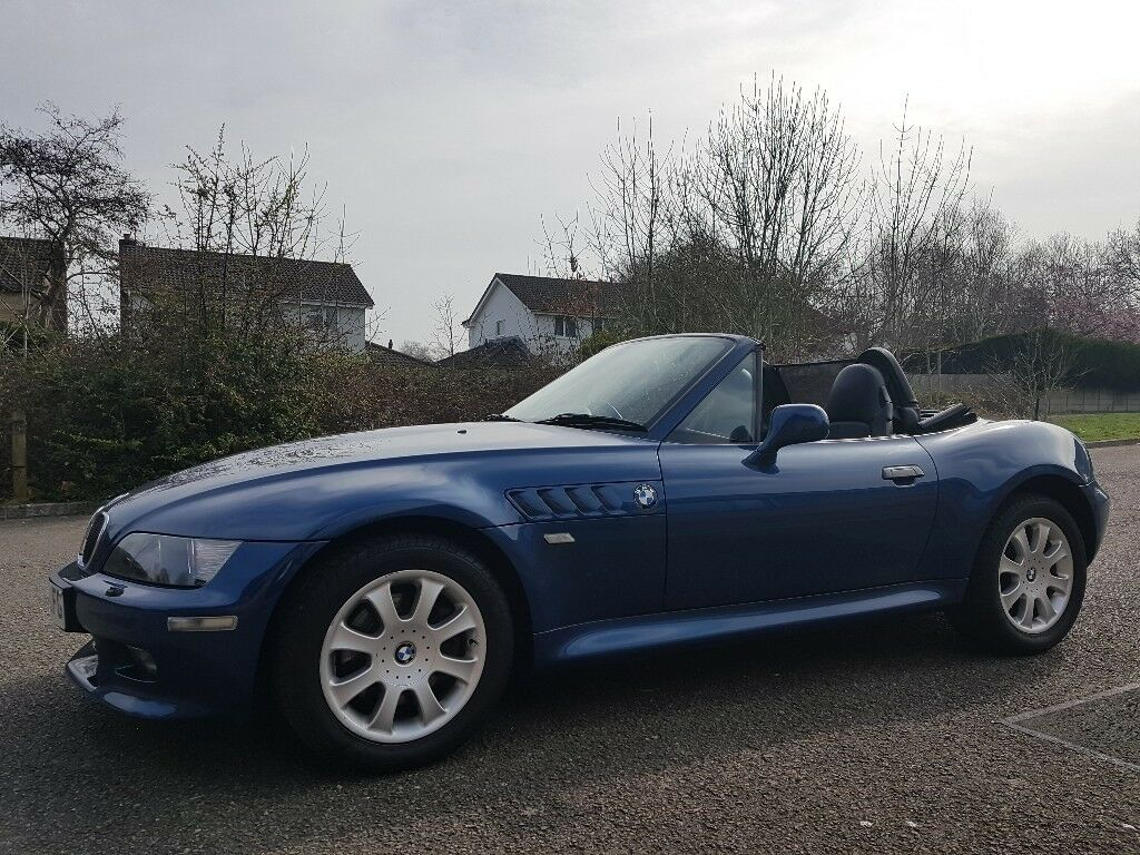 2001 Bmw Z3 3 0i Convertible Roadster In Blue 3 0 Similar