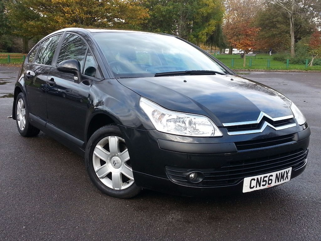 citroen c4 1 6 hdi automatic f s h 75k 20 year tax free warranty aa cover in hampton. Black Bedroom Furniture Sets. Home Design Ideas