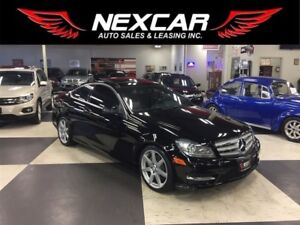 2013 Mercedes-Benz C-Class C350 4MATIC C0UPE NAVI LEATHER PANO/R