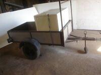 Small lightweight car trailer