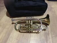 Cornet. Good condition. Perfect for beginners. Comes with a case.