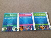 3 AQA science revision guides