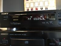 KENWOOD DP-7060 CD PLAYER and SONY FM Player - good condition