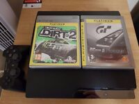 Sony playstation 3 with x2 games