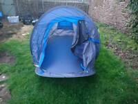 Hi Gear 2 man pop up tent and accessories