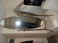 gold full length mirror