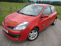 Renault Clio Dynamique 1.4 Only 52K FSH ( 7 stamps) Stunning Years MOT £2,175