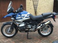 Stunning touring motorcycle with all the touring extras,full BMW service history and 12 months MoT.