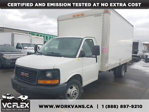 2013 GMC Savana G3500 16Ft V8 Gas + Ramp