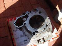 BMW R850R left cylinder head