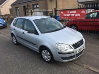 VW POLO 1.2 (2007) FULL SERVICE HISTORY, MOT 26/2/18, WARRANTY £1595