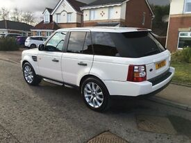 Range Rover Sport HSE White, Low milage