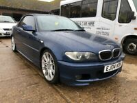 BMW 330CI M SPORT convertible AUTO 2004/04 in blue for sale  Enfield, London