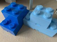 Lego Storage Blocks - Blue